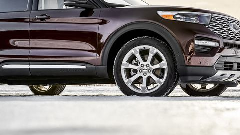 The next-generation Ford Explorer is lighter, quicker and more tech-dense than the outgoing model.