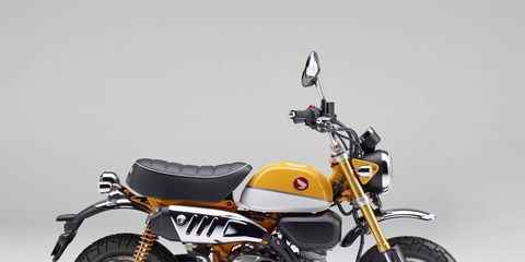 Honda will bring back two popular mini-motos to the United States: the Monkey and the Super Cub C125.