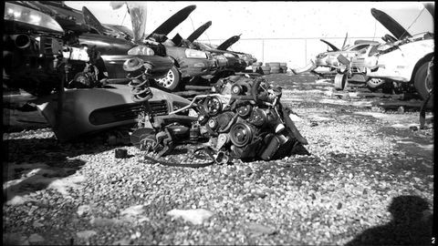 Rollei Retro 80S film. When the camera that shot this photograph was new, the Spanish-American War had just ended and Alfred Hitchcock was a newborn baby.