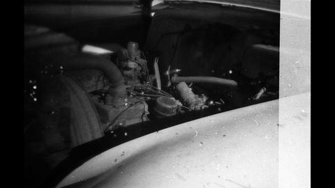 Pontiacs didn't get V8 engines until 1955, so this '52 has a flathead straight-six.