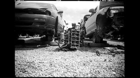 Taken with Pho-Tak Foldex 30 camera and Ilford Pan F 50 film.