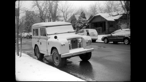 The Chicago-made camera is just a bit older than the Solihull-made truck.