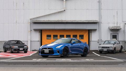 The 2020 Nissan GT-R 50th Anniversary Edition debuted at the New York auto show.