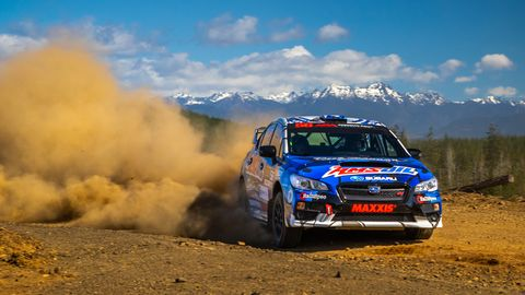 Action from the DirtFish Olympus Rally held April 27-28, 2019.