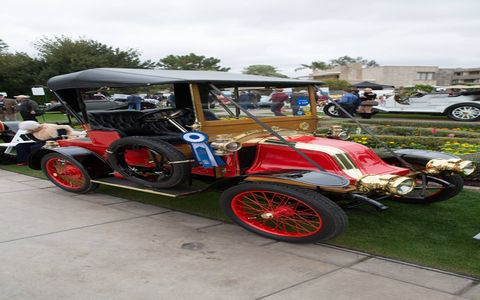1908 Renault AZ won its class.