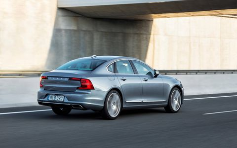 The S90 delivers more content for the cash than its German competitors.
