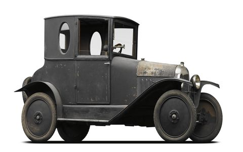 The 10-hp 1919 Type A was not only Citroen's first car, it was Europe's first mass-produced car.