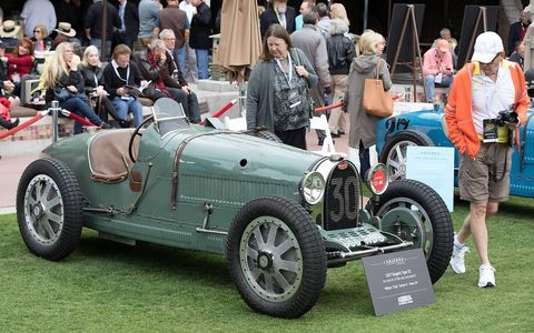 1927 Bugatti Type 35 raced by French woman driver Helle Nice.