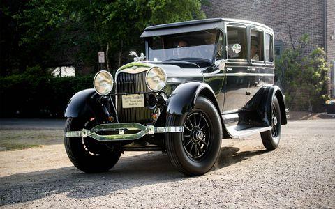 A 1927 Lincoln Model L.