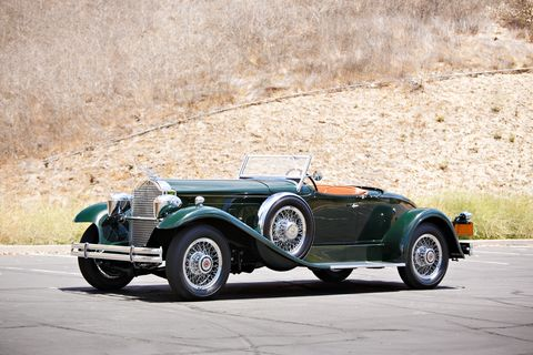This rare 1930 Packard 734 Speedster Runabout is a rare example of a performance car from a marque better known for its luxury offerings. It will head to the auction block at Gooding & Company's 2019 Amelia Island, Florida sale on March 8.