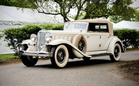 1932 Chrysler CL Convertible sedan.