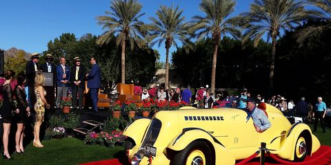 The Mormon Meteor won Best in Show at the Arizona Concours.
