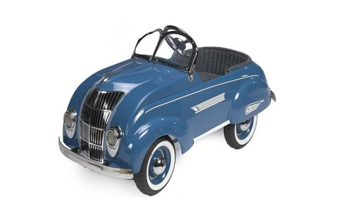 This 1936 Airflow by Steelcraft is one of more than a dozen pedal cars that will be going up for auction.