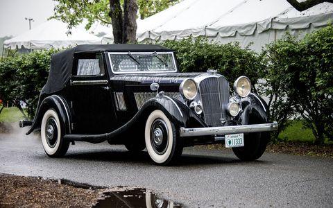 1936 Brough Superior 8.