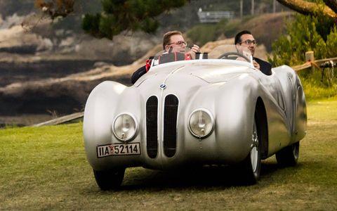 """1937 BMW 328 """"Bugelfalte"""" Roadster."""
