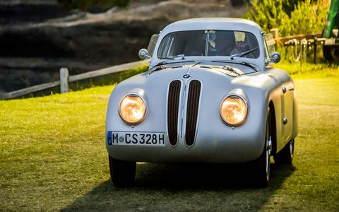 1939 BMW 328 Touring Coupe.