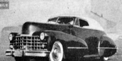 George's 1941 Buick with a '42 Cadillac grille.