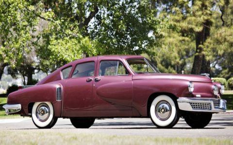 One of the surviving Tucker 48 sedans.
