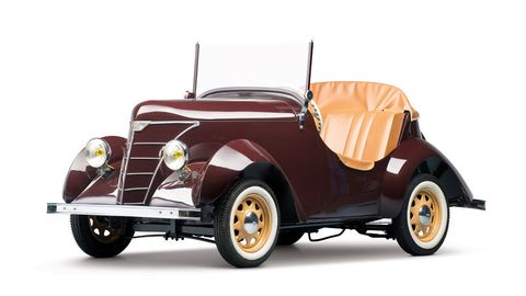 This 1950 Rolux Baby brought $48,875 two years ago.