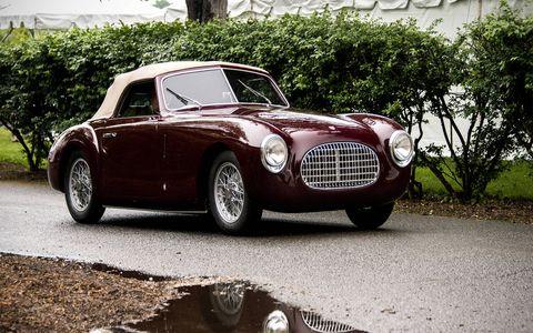 1951 Cisitalia 202C.