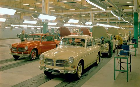 On the morning of April 14, 1927, the first Volvo car drove out through the factory gate in Gothenburg on Sweden's west coast.