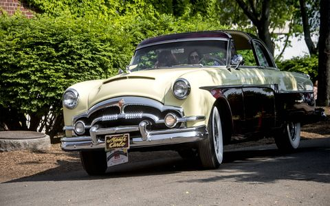 The 1953 Packard Monte Carlo.
