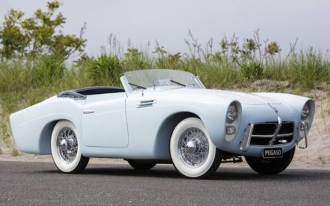 Gooding & Co. will be offering this rare Pegaso Z-102