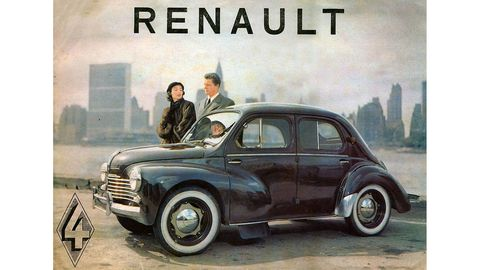 After the smoke cleared from World War II, West Germany made Beetles and France made 4CVs.