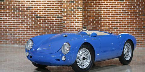 The 1955 Porsche 550 Spyder Roadster sold for $5,335,000.