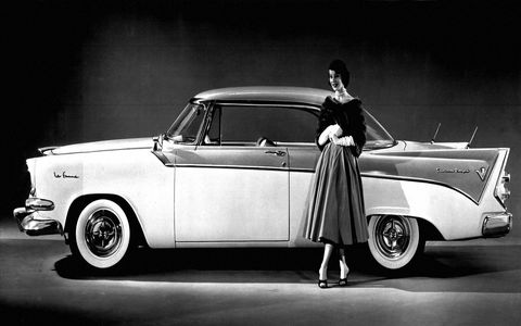 In 1955, Dodge released a trim level aimed directly at women.