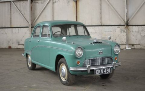 1960 Austin A90. Rare British cars from the Jaguar Land Rover collection will roll across the block in March.