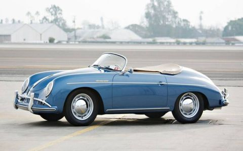 The 1957 Porsche 356 A Speedster sold for $682,000.