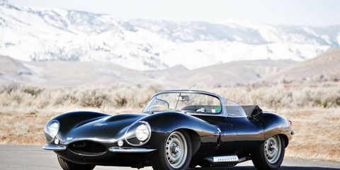 One of only 16 original examples of the iconic Jaguar XKSS. The road-going version of the three-time Le Mans-winning D-Type was successfully raced in Canadian sports car events between 1957 and 1961. It was beautifully restored by marque specialist Pearsons Engineering.