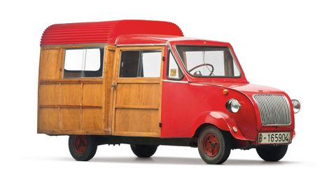 This 1958 Biscuter 200-I Furgoneta was originally sold from the museum in February 23.