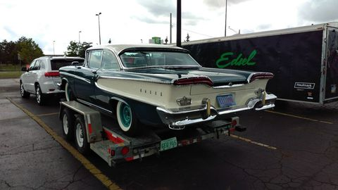 This 1958 Edsel is reportedly one of the original 75 cars used during the car's product launch.