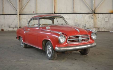 1960 Borgward Isabella. Rare British cars from the Jaguar Land Rover collection will roll across the block in March.