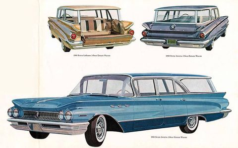 The thing about 1960 wagons is that all of them looked great.