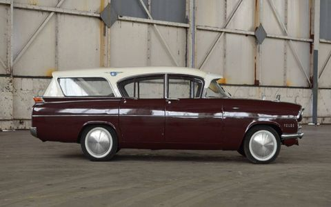1960 Vauxhall Velox. Several dozen rare classics, most of them British, will roll across the block later in March.