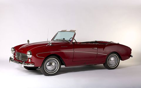 1961 Datsun Fairlady Sport- This rare Datsun Fairlady Sport was one of 217 built.