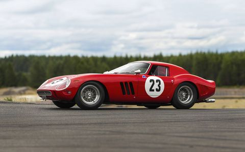 This 1962 Ferrari 250 GTO could become the most expensive car to ever sell at auction.