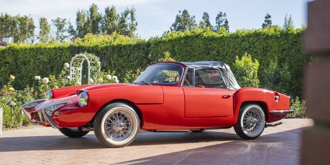 This 1962 Sabra Sport Roadster is one of 144 that came to the United States in the '60s.