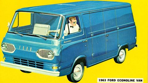1963 Ford Econoline.