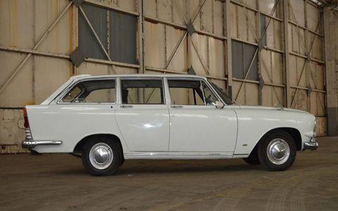 1964 Ford Zodiac. Several dozen rare classics, most of them British, will roll across the block later in March.