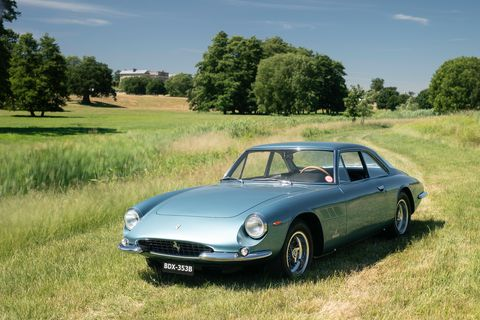 Heveningham Concours is destined to be a classic on the European Concours calendar. Here's a 1964 Ferrari 500 Superfast.