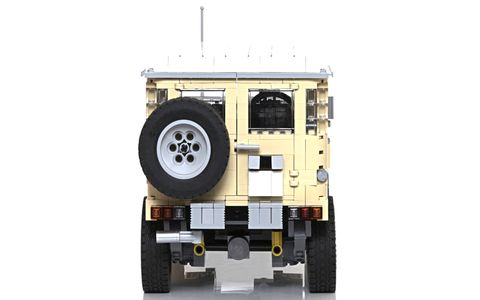 This Lego model was inspired by Australian-market BJ42 vehicles.