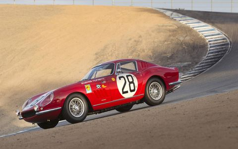 Georges Filipinetti bought this car in 1966, chassis number 09079, and promptly entered it in three 24 Hours of Le Mans races.