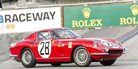 Just 12 examples of the Ferrari 275 GTB Competizione Speciale were built in 1966.