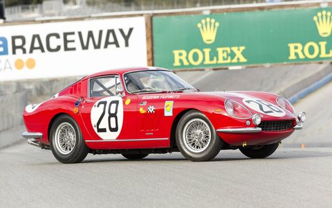 Just 12 examples of the Ferrari 275 GTB Competizione Speciale were built in 1966.