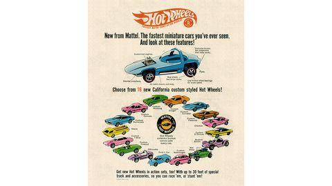 1968 Hot Wheels ad
