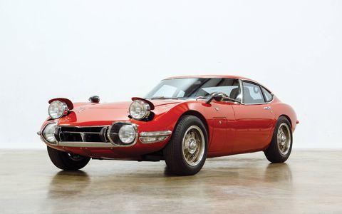 1968 Toyota 2000GT -- $880,000.